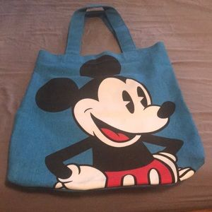 Disney Couture by Loop Mickey tote bag